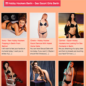 Berlin Hobby Hookers Order For Sex & Erotic With Top Escort Service